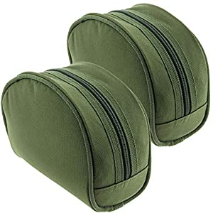 2 X Green Fishing Reel Cases For...