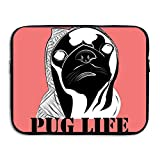 Computer Bag Laptop Case Slim Sleeve Pug Life Swag Hip Hop Waterproof 13-15in IPad Macbook Surface Book Notebook Ultrabook