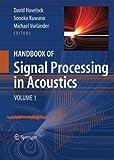Handbook of Signal Processing in Acoustics(2 vol set)
