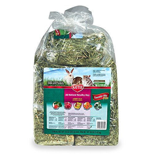 Kaytee Timothy Hay Plus Variety Pack For Rabbits & Small Animals ()