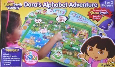 Dora's Alphabet Adventure PowerTouch Games, Power Touch by PowerTouch