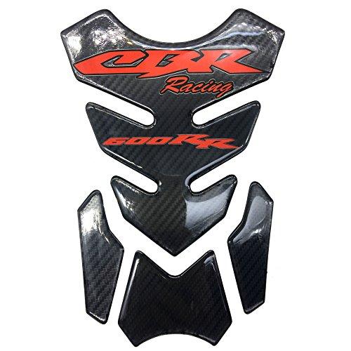 Carbon Fiber Motorcycle Tank Protector 8.6 Pad For Honda CBR600RR CBR 600 RR