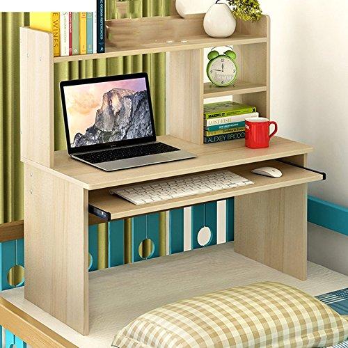 Mesas QFFL Escritorios Escritorio de la computadora de la Cama Lazy Table Estudio Simple del Dormitorio pequeño Escritorio 4...