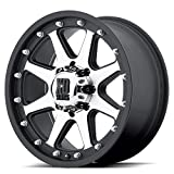 XD-Series Addict XD798 Matte Black Machined Wheel (17x9''/8x6.5'')