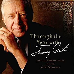 Through the Year with Jimmy Carter Audiobook