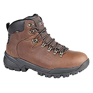 Johnscliffe Mens Canyon Leather Superlight Hiking Boots 4