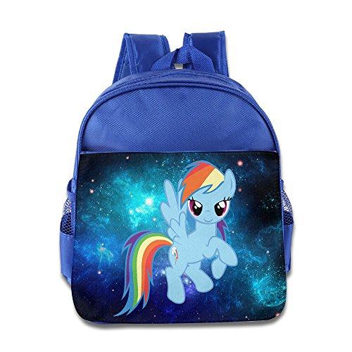 Rainbow Dash My Little Pony Customed Boy Girl Child School Backpack Comfortable]()