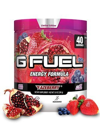 G Fuel Fazeberry Tub (40 Servings) Elite Energy and Endurance Formula (G Fuel Flavors)
