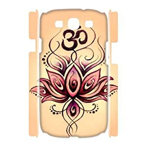 Lotus 3D-Printed ZLB820141 DIY 3D Phone Case for Samsung Galaxy S3 I9300 by icecream design