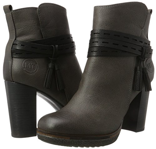 Mujer Gris Marco Tozzi grey Botas 25460 dk comb Para A gIww74Bxq