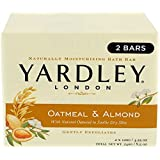 Yardley Bar Soap, Oatmeal & Almond, 2 Count