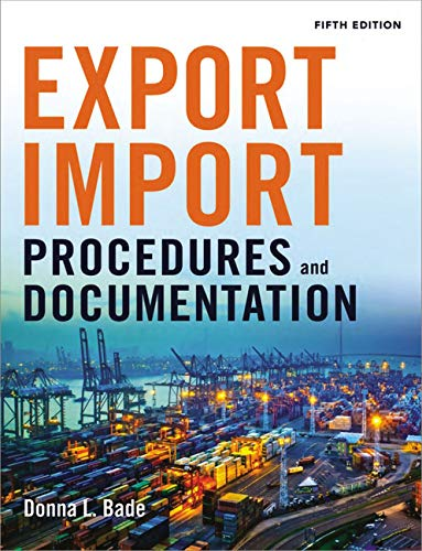Pdf Money Export/Import Procedures and Documentation