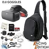 DJI Goggles RE FPV Headset (Racing Edition) Sling Bag Bundle