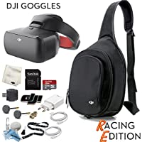 DJI Goggles RE FPV Headset (Racing Edition) Sling Bag Bundle