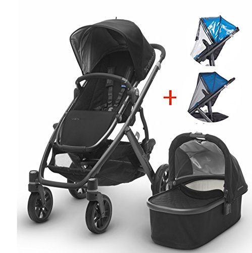 Uppa Baby Stroller With Car Seat - 8