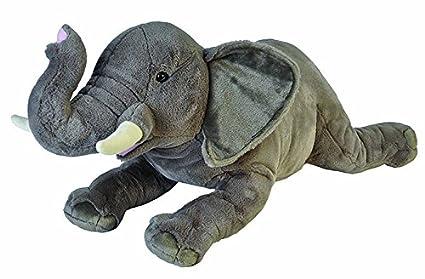 9a5cb7e09 Amazon.com  Wild Republic Jumbo Elephant Plush