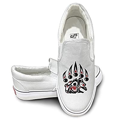 GD MSU Montana State University Casual Unisex Flat Canvas Shoes Sneaker White