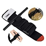 Combat & Application Medical Military Venous Tourniquet, Velcro One Handed Tourniquet for Military, Hiking & Emergency, First Aid