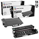 LD Compatible Brother TN850 / DR820 Toner & Drum Unit Set of 2 for DCP-L5500DN, DCP-L5600DN, DCP-L5650DN, HL-L5000D, HL-L5100DN, HL-L5200DW, HL-L5200DWT, HL-L6200DW, MFC-L5850DW, MFC-L5900DW