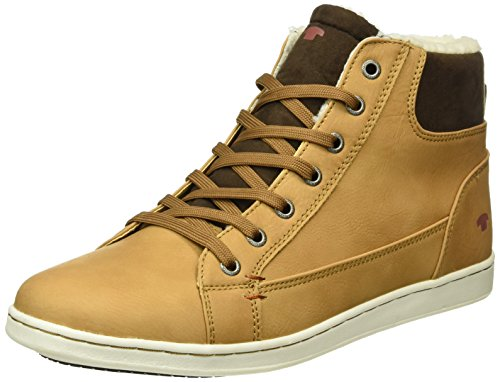 Tom Tailor 8589902, Sneaker Alte Uomo Marrone (Braun (Camel))