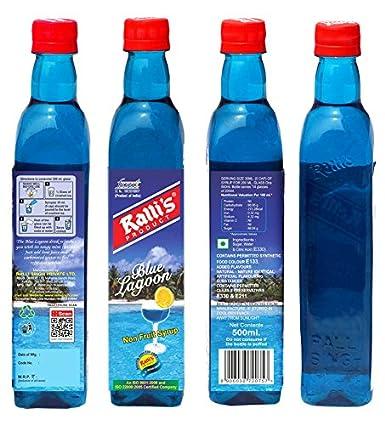 Ralli S Blue Lagoon Syrup 500ml