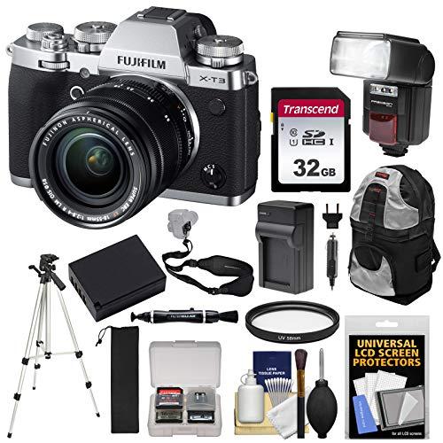 Fujifilm X-T3 4K Wi-Fi Digital Camera & 18-55mm XF Lens  wit