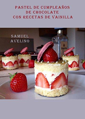 Amazon.com: Pastel de cumpleaños de chocolate con recetas de ...
