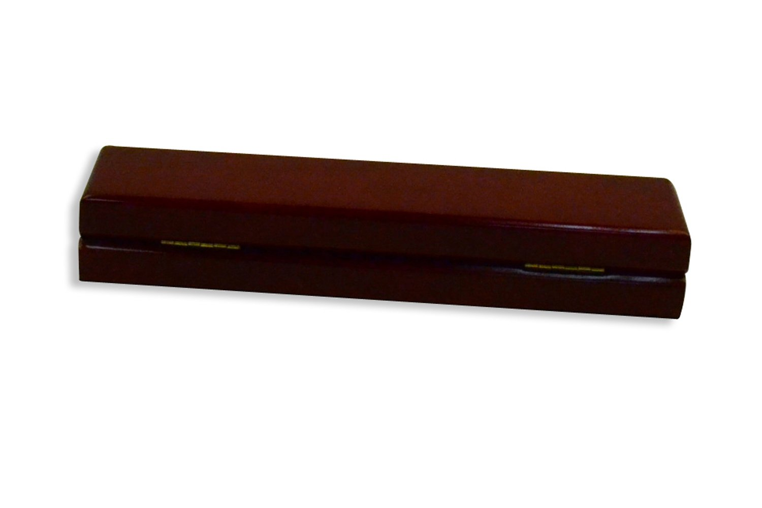 Regal pak ® one-piece jefferson collection premium rosewood bracelet box 8 7/8'' x 2 1/4'' x 1 3/8''