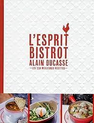 L'esprit bistrot par Alain Ducasse