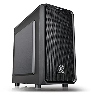 Thermaltake Versa H15 SPCC Micro ATX Mini Tower Computer Chassis CA-1D4-00S1NN-00 by Thermaltake USA Direct
