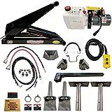 hydraulic trailer - Hydraulic Hoist Kit- 16,000 lbs- Dump Trailer- 12V- Scissor Hoist Kit Complete.