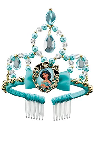 [Disguise Jasmine Classic Disney Princess Aladdin Tiara, One Size Child, One Color] (Princess Jasmine Costumes Tiara)