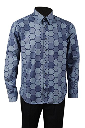 Chemise Longues Manfis Hemd Manches Casual Homme dpww7gxYq