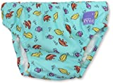 Bambino Mio Swim Nappy- Blue Fish-Small
