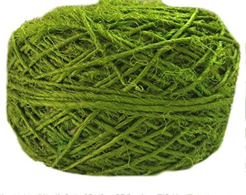 Olive Green Silk Sari - 5