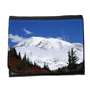 le portefeuille de grands luxe femmes avec beaucoup de compartiments // M00155959 Mount Rainier nieve de la montaña // Small Size Wallet