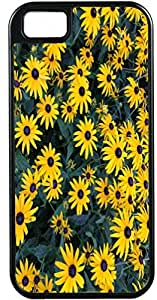 Blueberry Design iPhone 5 iPhone 5S Case yellow Leaves Flowers Design - Ideal Gift