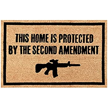 Amazon Com Freedom Amp Company Second Amendment Doormat