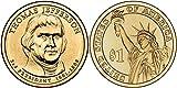 2007 P&D Thomas Jefferson Presidential Dollar