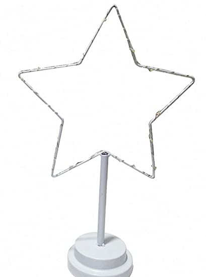 Amazon Com Christmas Decorative Stars Metal Iron Led Candle Lantern
