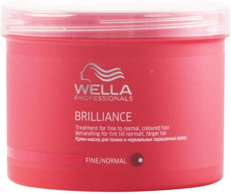 Wella Professionals WPC Brilliance Tratamiento Capilar para Cabello Fino - 500 ml
