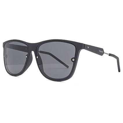 Polaroid Wayfarer lunettes de soleil style en ruthénium noir polarisé PLD  6019 S ZA1 58  Amazon.fr  Vêtements et accessoires 5ba1845ecaa3