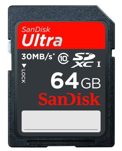 Sandisk Ultra SDXC UHS I 64 GB Class 10 Memory Card