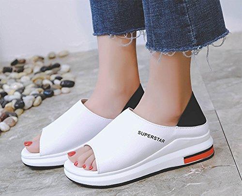 suave 2 de de de fondo fondo mujeres Ropa establecen fondo estudiantes y zapatos KUKI color dos grueso con mezclado casual plano para pedal ZqwaSfB