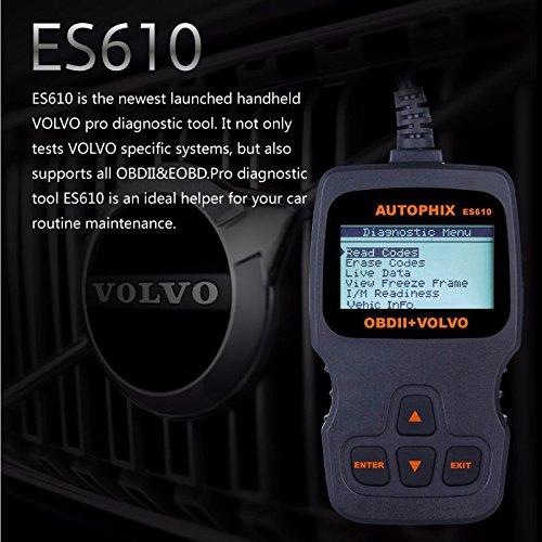 AUTOPHIX ES610 Professional Auto OBD2 EOBD Diagnostic Tool for Volvo by AUTOPHIX (Image #2)