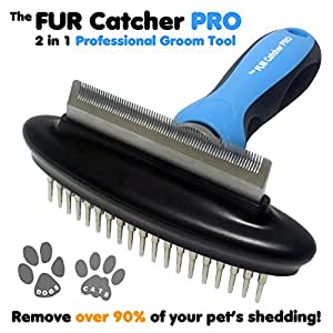 2-in-1 Grooming Dog Brushes For Shedding