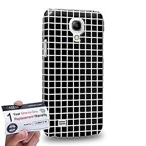 Case88 [Samsung Galaxy S4 Mini] 3D impresa Carcasa/Funda dura para & Tarjeta de garantía - Art Fashion Visual Effect Graphic A