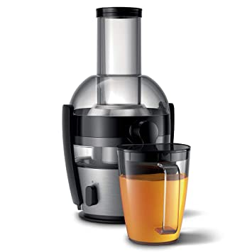 Philips Viva Collection HR1867/21 - Exprimidor (Exprimidor, Aluminio, Negro, 1,2 L, 0,8 L, 2 L, 7,5 cm): Amazon.es: Hogar