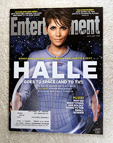 Halle Berry - Extant - Steven Spielberg's Shocking New Space Thriller - Entertainment Weekly - #1319 - July 11, 2014 - Andy Serkis, The Ultimate Ebert: Our Guide to The Critic's Favorite Flicks