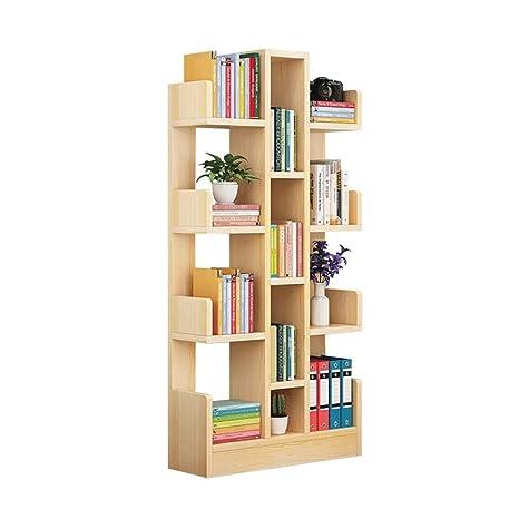 Amazon.com: ZHIRONG - Estantería de 8 estantes para libros ...